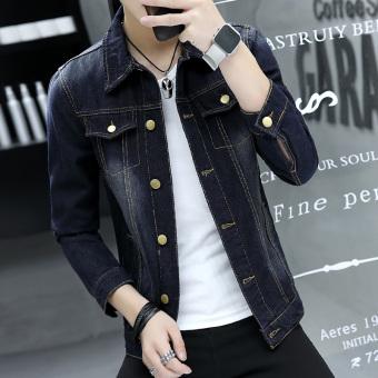 Jual Korea Fashion Style Pria Muda Slim Jaket Jeket Jeans