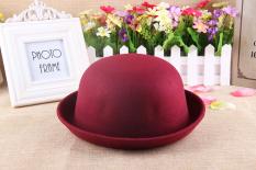Korea Fashion Style wol musim semi dan musim gugur anak-anak putaran topi Korea topi