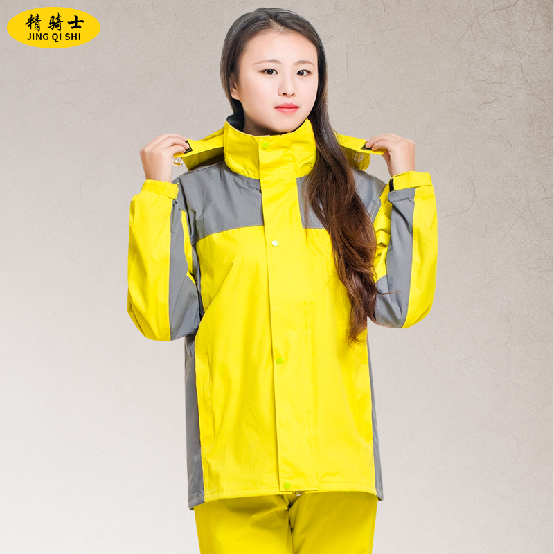 Qinfeiman dewasa melihat sekeliling ganda ganda ponco jas hujan (Tentara hijau merajut 3XL (Topeng