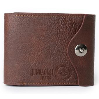 KSM - Dompet Pria Model Three Fold - Coffee