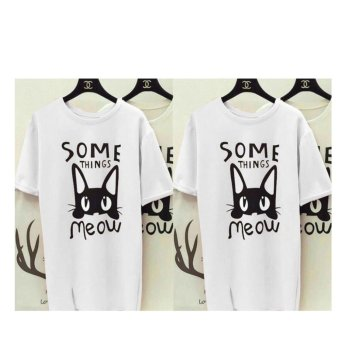 Labelledesign Somethings Meow - White