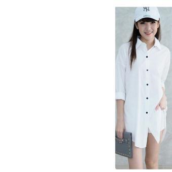 Ladies Fashion Kemeja Wanita Lengan Panjang Nonce / Kemeja Kerja Wanita Formal / Kemeja Santai Wanita