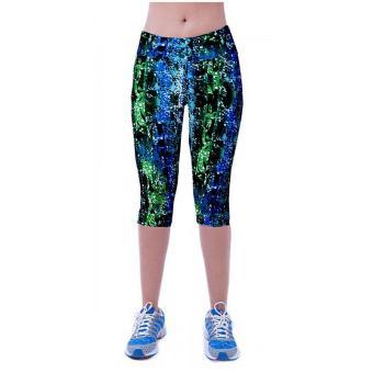 LALANG latihan legging celana pendek olahraga peregangan kebugaran42#