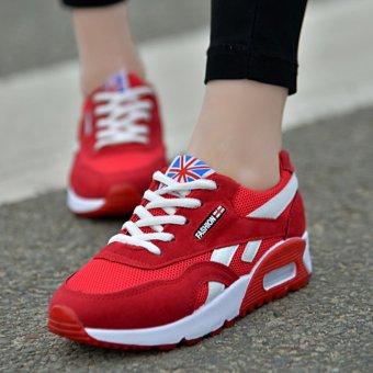 Jual LCFU764 Olahraga Lari Sepatu Kets Wanita Sepatu Merah Online ... de13b99ea7