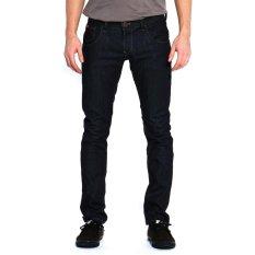 Lee Cooper Jeans Pria Slim Fit Dark Indigo Norris