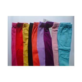 harga Grosir legging Polos  anak 4-5 tahun -Kualitas  premium  -6  pcs Lazada.co.id