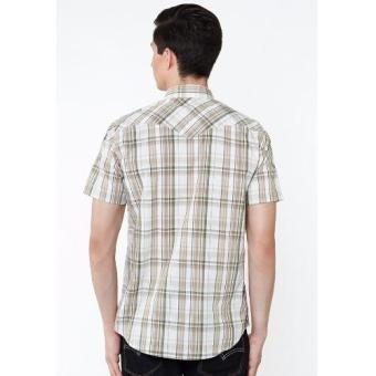 Levi's Classic Western Shirt - Gerle Lead Grey Plaid .