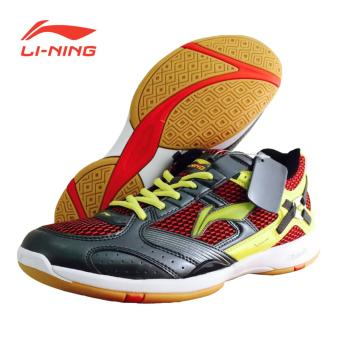 Li-Ning Badminton Shoes Super Star II - Abu-abu