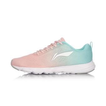 Harga LINING arbm076 wanita baru perempuan sepatu olahraga ringan sepatu  lari (Kristal merah muda  fb9f0d1a53
