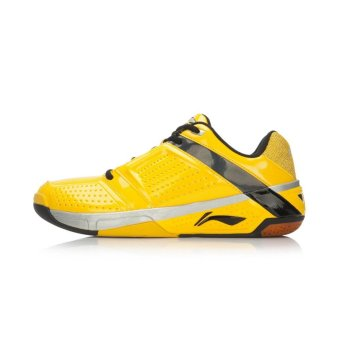 Lining Badminton shoes AYTL019 Yellow - intl
