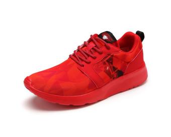 LINING glal109-5 jalan merah model laki-laki asli sepatu lari tren sepatu kasual (GLAL109-5 merah)
