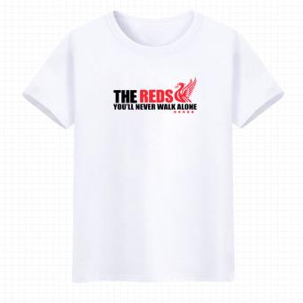 11gfn T Shirt Liverpool Logo Hitam Daftar Harga Terbaru Indonesia Source · Liverpool musim panas laki laki katun lengan pendek t shirt Putih