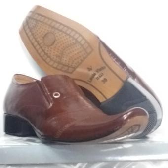 Gambar Louis Visto sepatu pria formal kulit asli model LV 354 coklat
