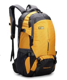Tas Ransel Luar Rumah Produk Asli Tas Gunung Perjalanan Tahan Air (Kuning)