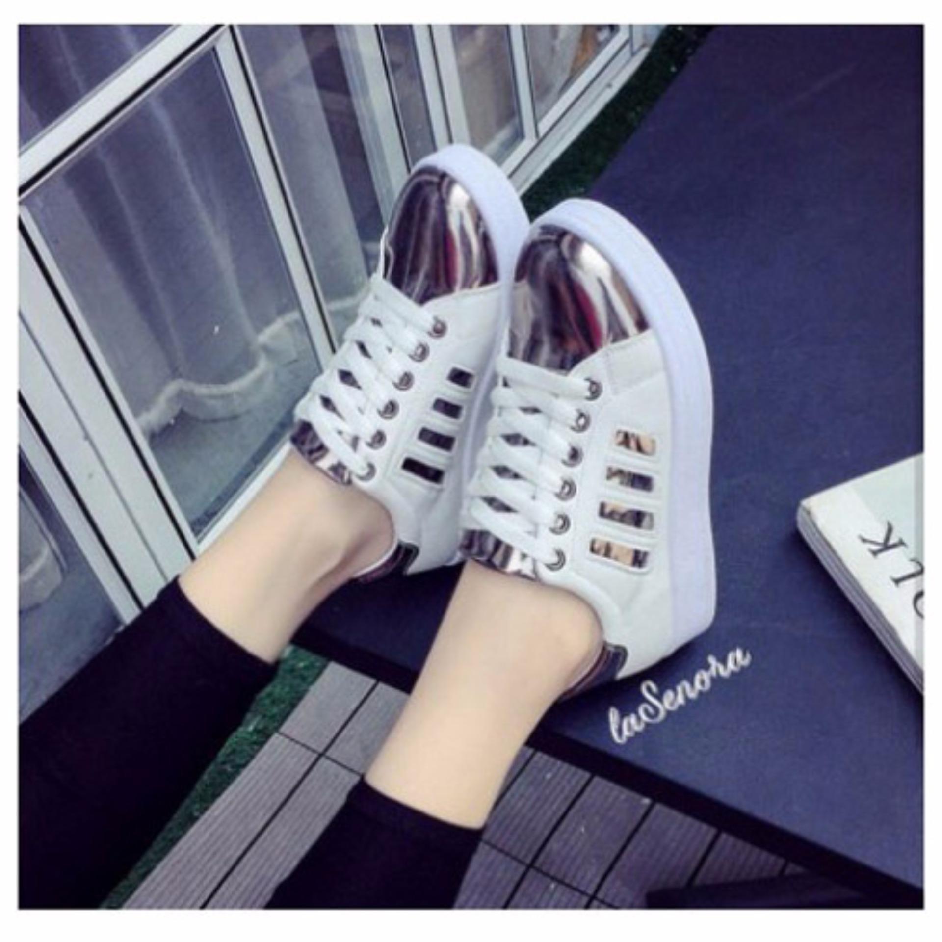 Lumintu - Sepatu Glossy - TB-625 - Coklat .