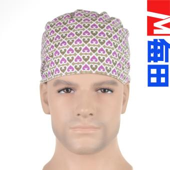 ... M Eropa dan Amerika kapas dokter dan perawat topi topi Ungu liter 03 topi