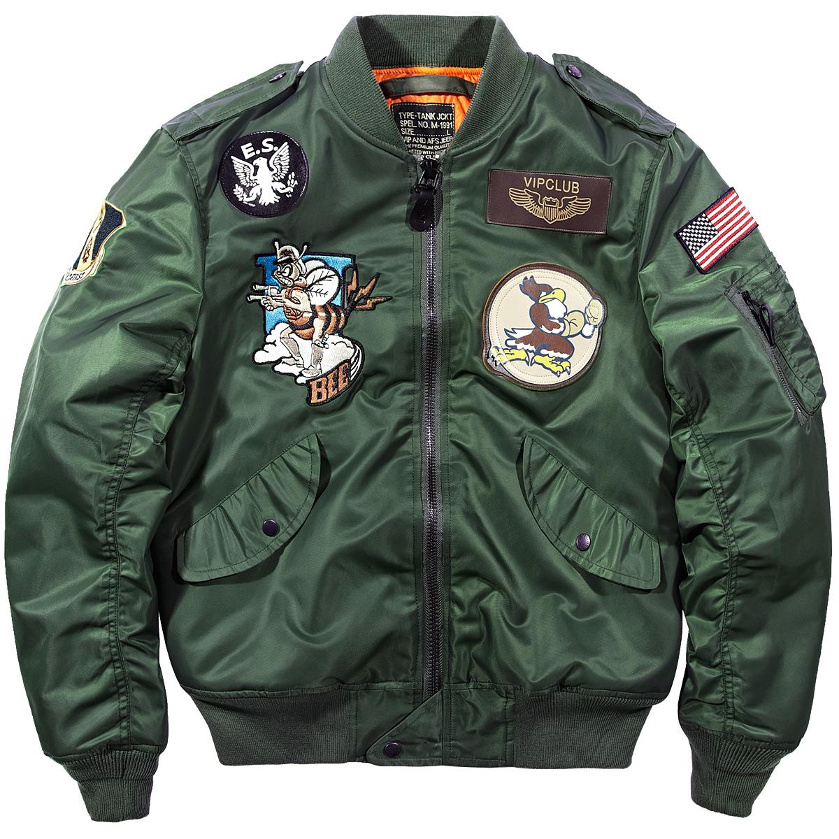 Flash Sale MA1 mantel laki-laki perkakas musim semi dan musim gugur bisbol seragam jaket
