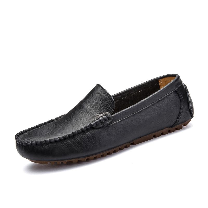 Malas British Kulit Pria Bernapas Laki Laki Sepatu Peas Sepatu 2028 Source · Cheap online Malas
