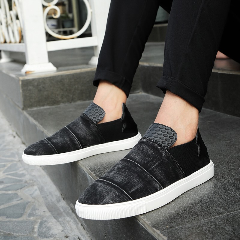 Malas Korea Fashion Style Kulit Bernapas Pemuda Sepatu Pria Sepatu ... b7aaa6b55d