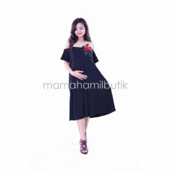 Review Mommy Maternity Boutique Dress Ibu Hamil Menyusui Pesta Full
