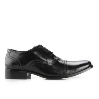 Gambar Marelli Sepatu Formal Pria Kulit 2702 Hitam .