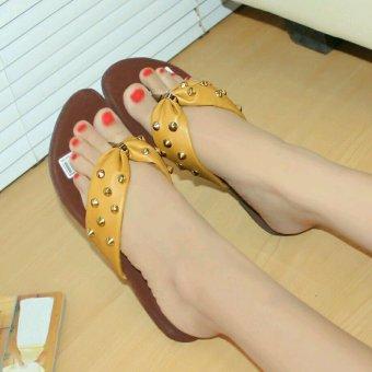 Marlee DN-20 Sandal Flat - Kunyit