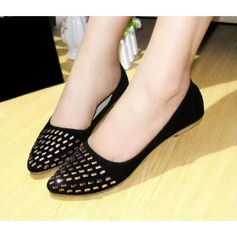 Marlee Flat Shoes ALV-01 Hitam