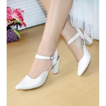 Marlee PSS-703 Sepatu Heels Wanita - Putih
