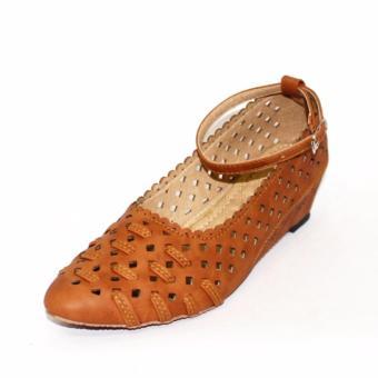 Marlee Sepatu Wedges Wanita BD-04 Tan