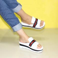Marlee Wedges Platform Sandal ME-16 Putih