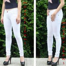 Master Jeans Celana wanita softjeans size 27-34 Putih