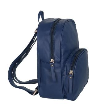 Detail Gambar Mayonette Shiny Backpack - Navy Terbaru