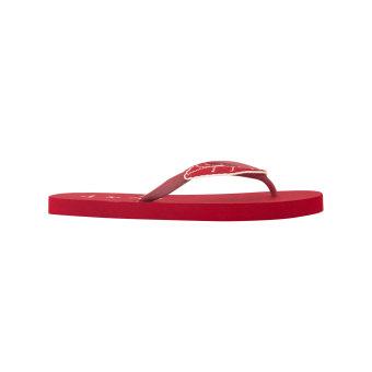 Detail Gambar Megumi Ivy - Sandal Jepit - Merah dan Variasi Modelnya