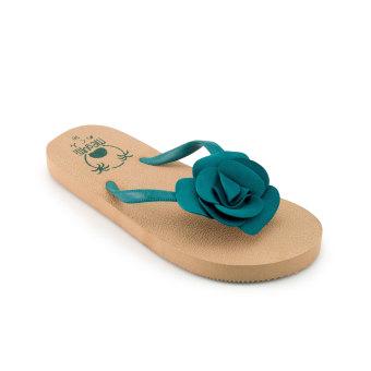 Megumi Periwinkle - Sandal Jepit - Hijau