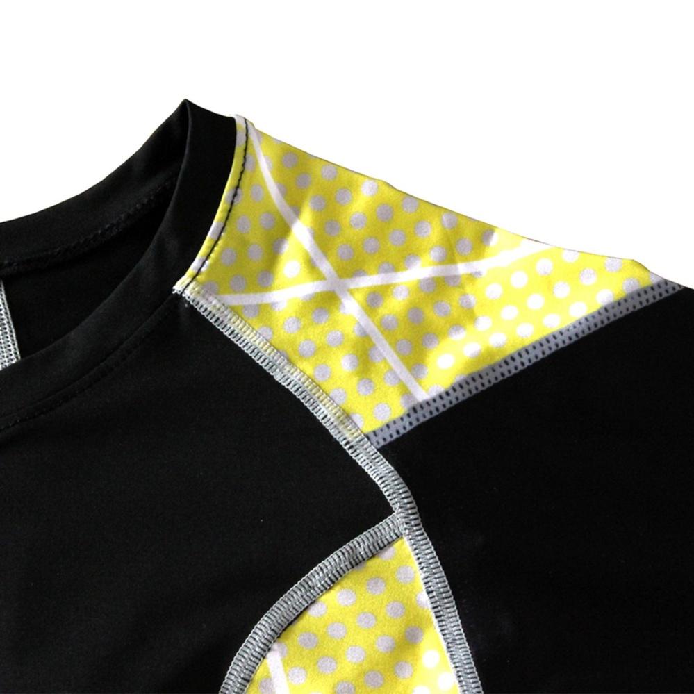 ... Men Compression Shirts Lifting Long Sleeve Fitness Shirts Gym Quick dry Active Shirt - intl ...
