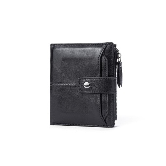 Men Genuine Leather Wallet Man Wallet Coin Purse Men Wallets Card Holder Credit Card Male Clutch Mens Wallets - intl