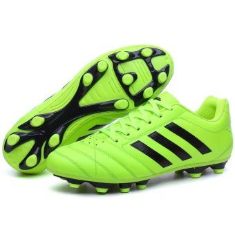 Men Sweat Anti-skid Comfortable Cushioning Breathable Wear-resistant Soccer Shoes - intl - 3