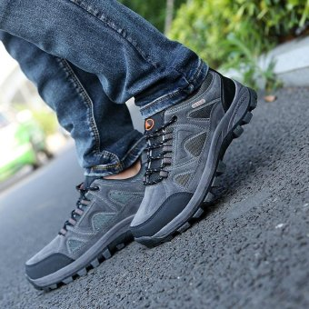 ... Men's Spring and Summer Season Outdoor Hiking Shoes - intl - 5