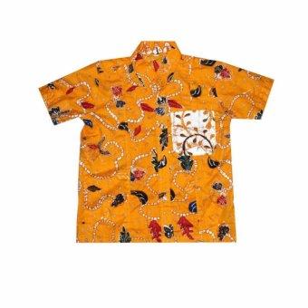 Mila Style Hem Batik Anak Varian Baim - Biru - 2