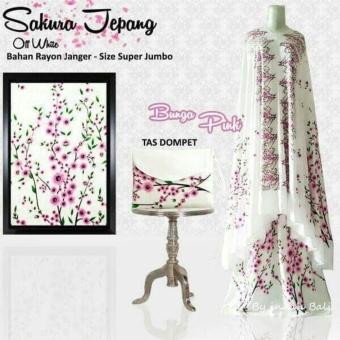 Mukena Sakura Jepang - Bunga Pink ...