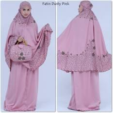 Mukena Velvet Antik Fatin Dusty Pink