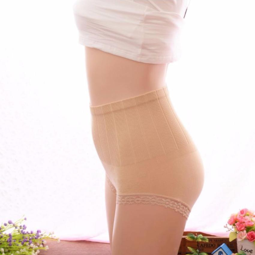 Munafie Slim Pant Celana Korset Grade A (All Size ) - Hitam