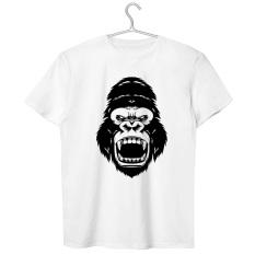 Munculnya fashion bola simpanse avatar t-shirt (Putih)