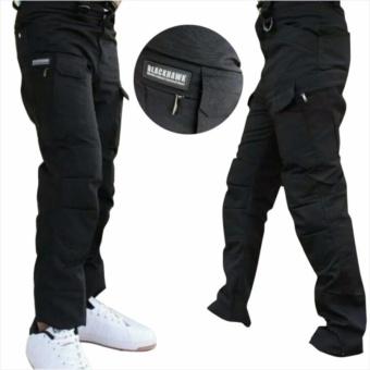Harga [Murah] Celana panjang Kargo Hitam model Blackhawk Tactical(Outdoor, Hunting, Army, Police Pants, Airsoft) Terbaru klik gambar.