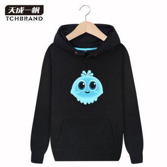 Musim Gugur Dan Musim Dingin Korea Fashion Style Laki-laki Berkerudung Siswa Hoodie Kaos Sweater