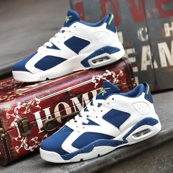 Musim gugur Korea Fashion Style beberapa sepatu BayMini sepatu (N95 biru)