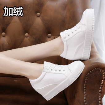 Musim panas liar perempuan baru I kasual sepatu BayMini sepatu (Ditambah beludru putih)