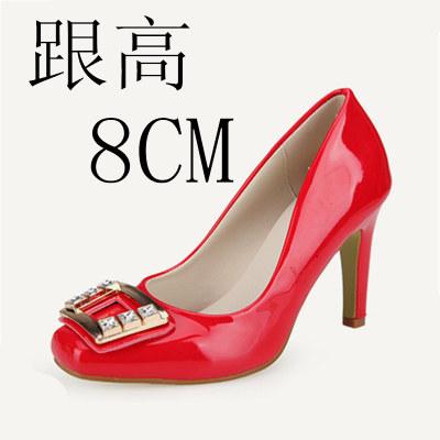 LCFU764 wanita fashion sepatu hak tinggi putri pernikahan pointing to her Office wanita her-10