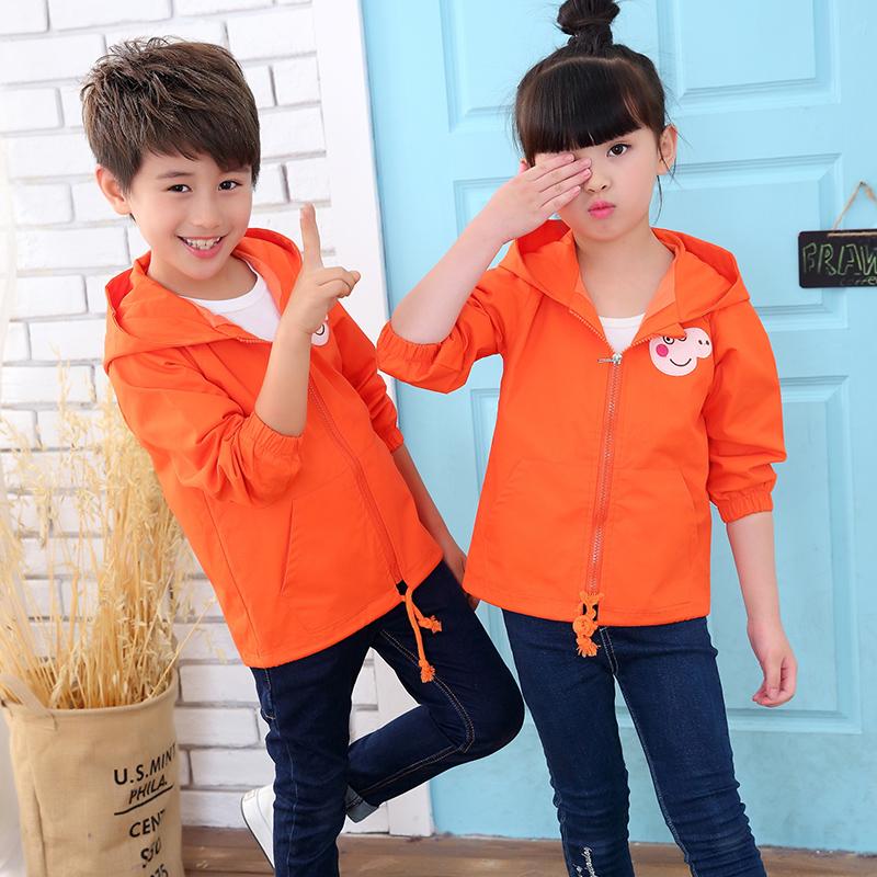 ... versi Korea dari bagian panjang. Source · Flash Sale Musim Semi dan Gugur kapas baru berkerudung jaket anak perempuan jaket (Oranye)