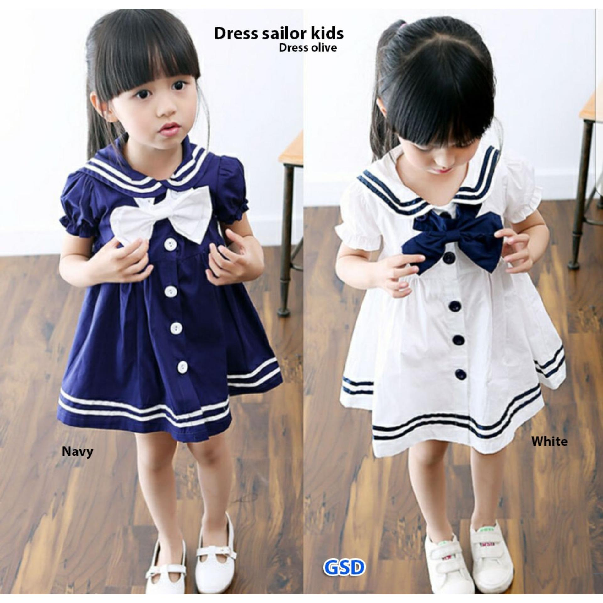NCR-Dress Anak Dress Olive